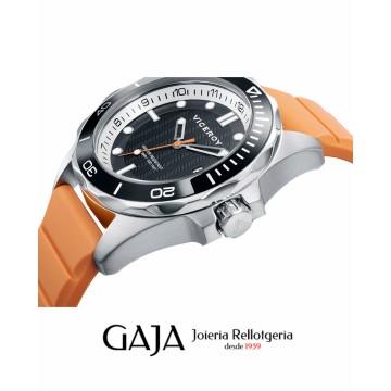 Rellotge Viceroy d'home amb corretga taronja col·lecció Heat 471163-37