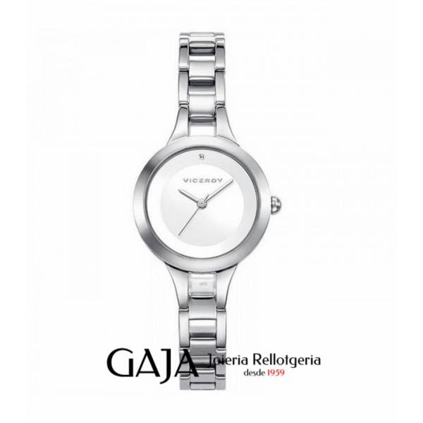 Rellotge de dona Viceroy col·lecció Air d'acer inoxidable 42256-05
