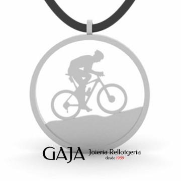 Penjoll ciclisme bicicleta muntanya BTT mountainbike de plata