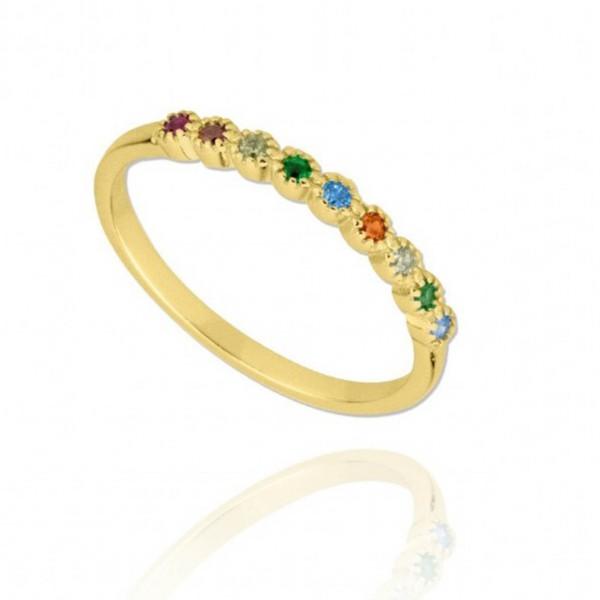 anell plata circonites colors